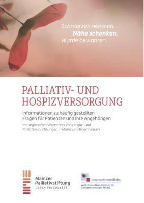 Broschüre Palliativ- und Hospizversorgung